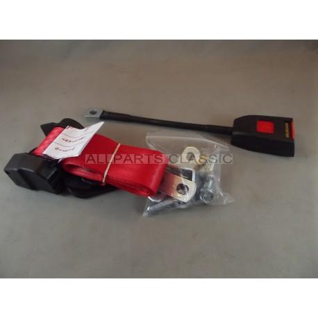CEINTURE DE SECURITE AVANT A ENROULEUR ROUGE Ref  MSA1111RED ... cd738138069