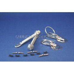 KIT ATTACHES CAPOT EN ACIER COMPETITION Ref: bnt3022